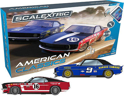 C1362 Scalextric ARC ONE American Classics Car Gift Set Use with Phone or Tablet