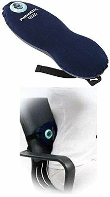Lumbar,inflating chair seat,back support,pressure support foam travel cushion