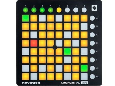 Novation Launchpad Mini MkII Controller Midi Usb 64 Tasti Ableton Live Lite Incl