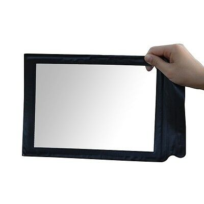 A4 Full Page 3x Magnifier Sheet Large Magnifying Glass Book Reading Aid Lens S*