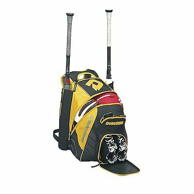 DeMarini Voodoo Rebirth Baseball/Softball Backpack Bag - Light Gold