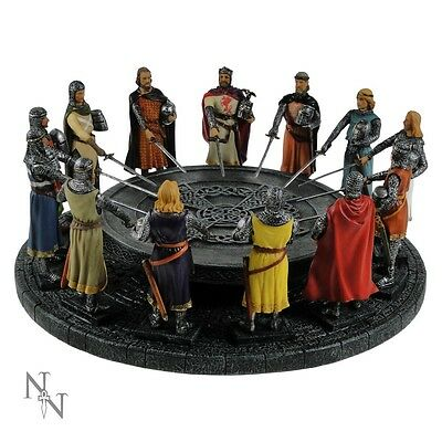 knights of the round table 29cm - Gothic Mythical Fantasy Gift Nemesis Now new