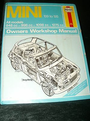 Mini Workshop Manual 1969 To 1985