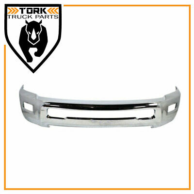 2010-2015 Fits Ram 2500 3500 Front Chrome Bumper With Fog Light Hole