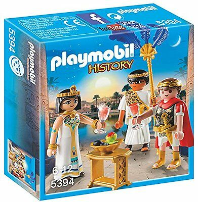 Playmobil 5394 Caesar and Cleopatra Egyptian EMPERADOR Roman NEW BOXED SEALED