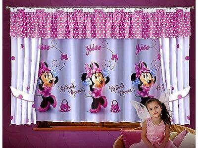 Beautiful Set Children Net Curtains Ready Made For Any Girls Room