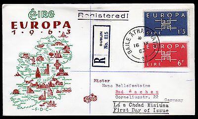 Irland 159-60 R-FDC, CEPT 1963