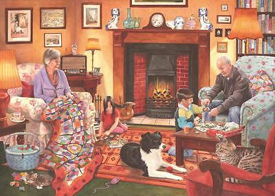The House Of Puzzles - 1000 PIECE JIGSAW PUZZLE - Quiet Night In