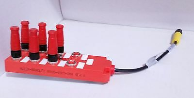 Allen Bradley 898D-48Kt-Dm4 Top Mount Outlet Male Connector 4 Pin Micro