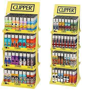 180 Pcs Original Clipper Lighters With Free Stand And Free 20 Lighters (160+20)