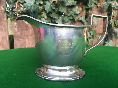 White Star Line Silver Plated Olympic Titanic Type Milk Jug, dated 1922