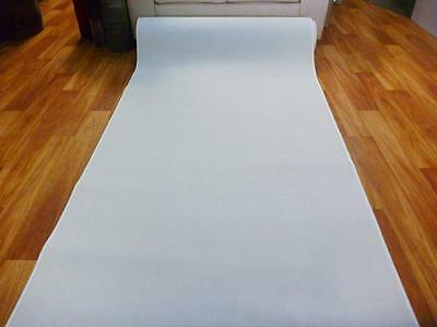White Grandeur Plush Pile Wedding Event Exhibition Thick Washable Carpet Aisle R