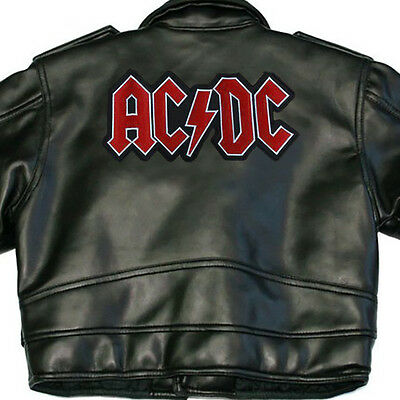 Ac/dc X-Large Back Sew On Patch Logo New Rare