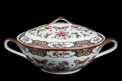 China 20. Jh. Große Terrine -A Chinese Famille Rose Soup Tureen - Chinois Cinese