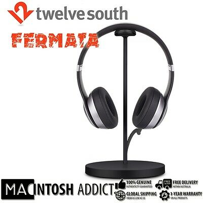 Twelve South Fermata Universal Charging Stand For Wireless Headphone BLACK