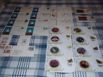 FDC Lot of World Groups of Envelopes Gorgeous Mix of Envelopes and Stamps