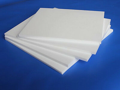 PTFE F4 Sheet Plate Thickness 0.3 0.5 1 2 3 4 5 6 8 10mm,size 100 to 300mm B6RM