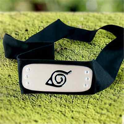 New Naruto Leaf Village Konoha Ninja Headband Kakashi Sasuke Sakura Head Band@DH
