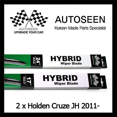 Windscreen Wiper Blades For HOLDEN CRUZE JH 2011 2012 2013 2014 2015 2016 PAIR