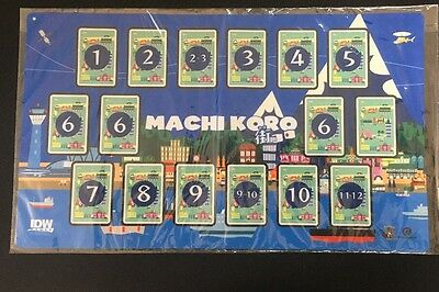 Machi Koro # Offical Machi Koro Play Mat - New & Sealed - More In Store - JS