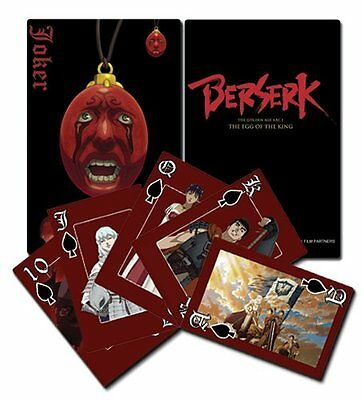 *NEW* Berserk Playing Cards by GE Animation
