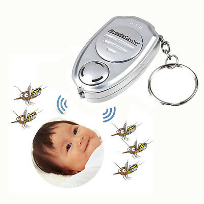Key Clip Electronic Ultrasonic Mosquito Pest Mouse Killer Magnetic Repeller