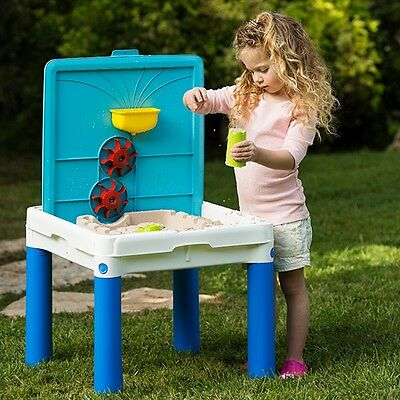 Keter Sand and Water Table Kids Garden Sandtable & Water Toy Playset