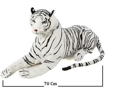New Large White Tiger Soft Cuddly Toy 70 cm Soft Toy Plush UK Fast Dispatch