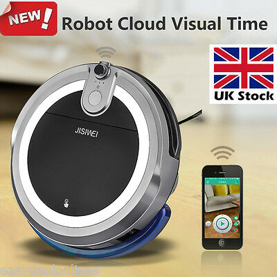 JISIWEI Vacuum Cleaner Smart Cleaning Robot i3 HD Camera Remote for iOS Android