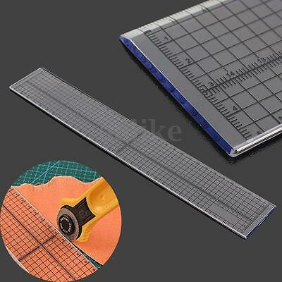 30cm Foot Aligned Patchwork Ruler Sewing Template Grid Cutting Edge Tailor Craft