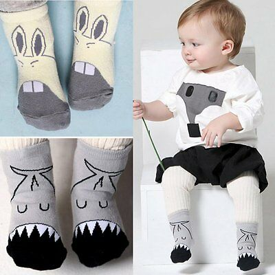 Winter Newborn Baby Girls Boys Anti-slip Socks Cute Cartoon Animal Socks Child
