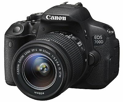 NUEVO Canon EOS 700D Digital+18-55mm IS STM Kit - GARANTIA  1 ANO de VENDEDOR