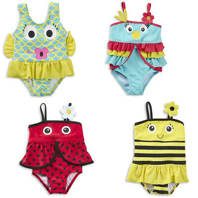 Infant Baby Girls Novelty Animal Swimming Suit Swim Costume Outfit 3-24 Months