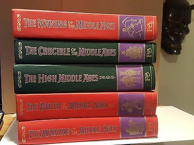 The Story of the Middle Ages Five HC Volume Set Folio Society 1999