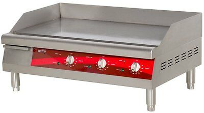 """Countertop Electric Griddle 30"""" Restaurant Kitchen Commercial Flat Top Grill"""