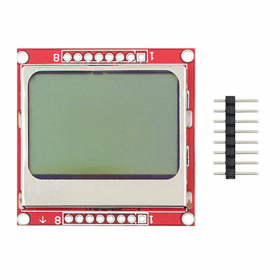 84*48 LCD Module Blue Backlight Adapter PCB for Nokia 5110 GT