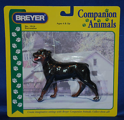 Breyer~2004-06~Rottweiler~Dog~RARE!~NIB~Companion Animal