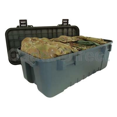 New Heavy Duty Plano Military Storage Trunk, Olive Drab