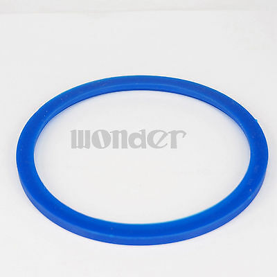 (5)Blue Silicone Flat Gasket Ring Washer Fit 102mm O/D Sanitary SMS Socket Union