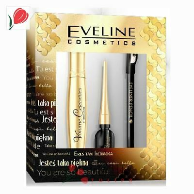 Eveline Cosmetics Celebrities Eye Make-up Gift Set 3pcs