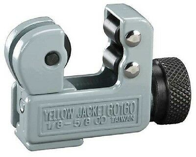 """Yellow Jacket 60160 Heavy Duty Small Mini-Cutter for 1/8"""" to 5/8"""" O.D. Tubing"""