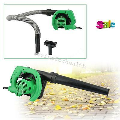 Electric Handheld Super Leaf Blowers with Vacuum Shredder Home Garden 650W EU US