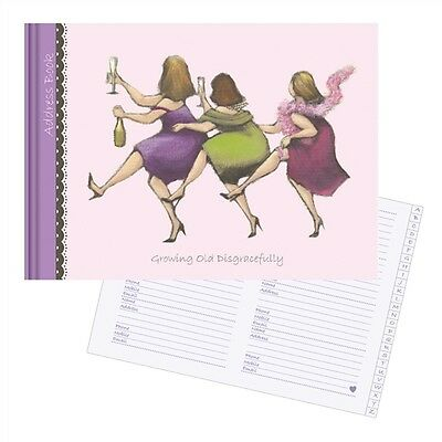 Ladies Who Lunch Stationery - Address Book (Growing Old Disgracefully)
