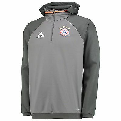 Adults Large Bayern Munich Training Fleece - Grey EB68