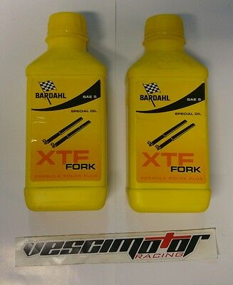 1L Olio Forcelle Bardahl XTF Fork Sae 5