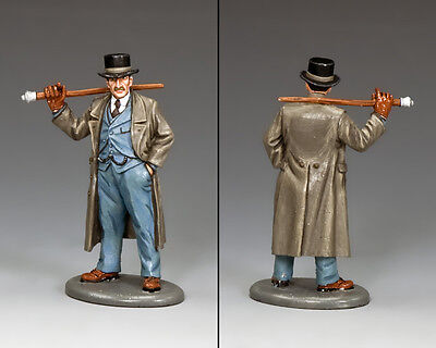 KING AND COUNTRY Dr. John Watson  WoD031 WoD31 Painted Metal Scale Model