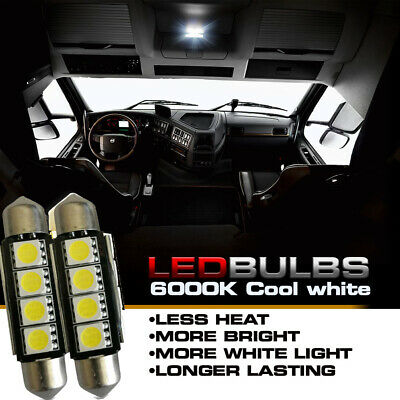 LED Bulb Cool White 211-2  for Peterbilt Kenworth Dome Lights (2 per pkg)