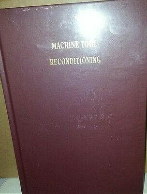 Machine Tool Reconditioning Book