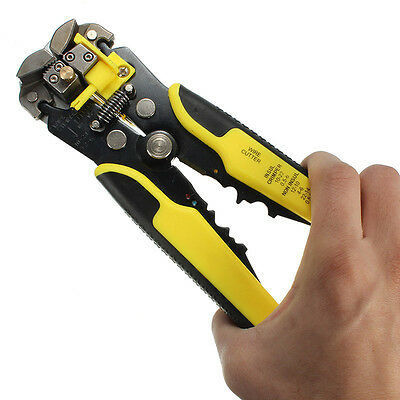 Automatic Wire Cable Stripping Crimping Terminal Tool Peeling Pliers Accessory