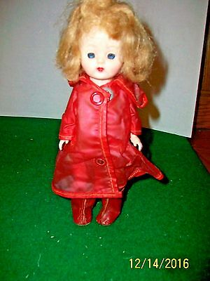 8 inch Hard Plastic  SLW Cosmopolitan Doll Ginger in Rain Suit